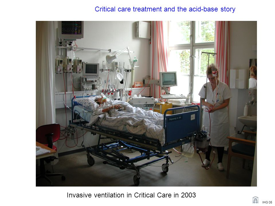 Critical care treatment and the acid-base story
