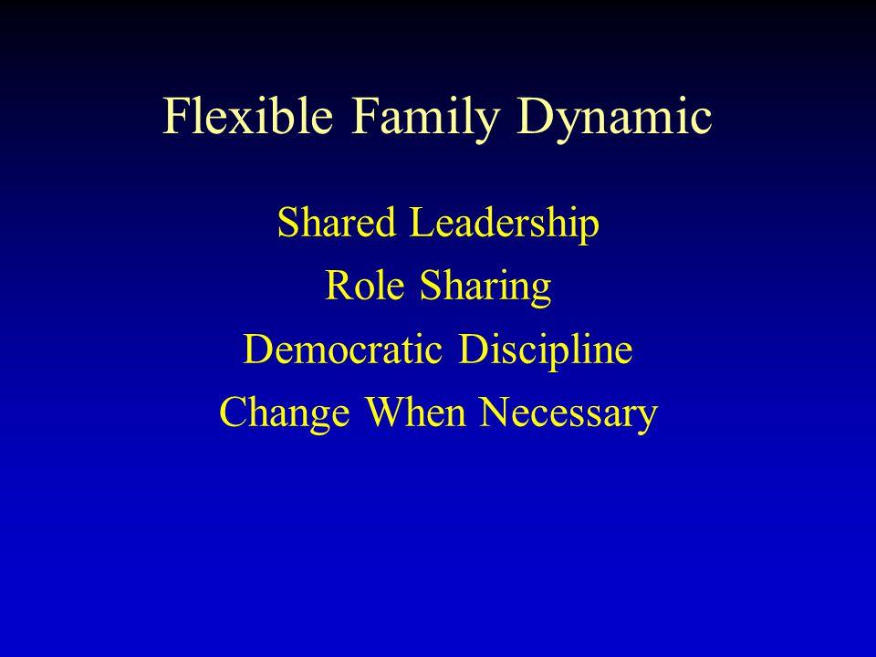 Flexible Family Dynamic