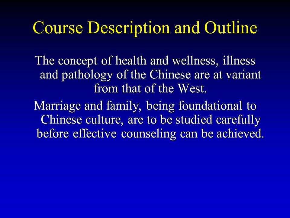 Course Description and Outline
