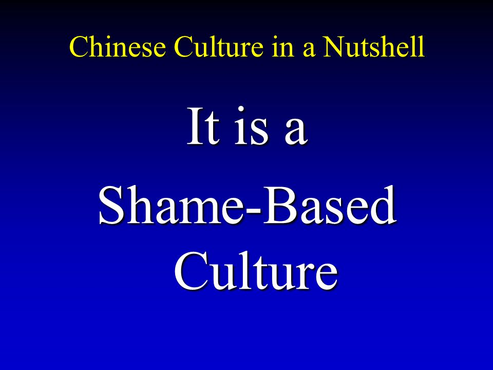 Chinese Culture in a Nutshell