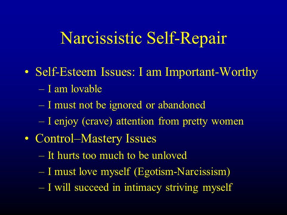 Narcissistic Self-Repair