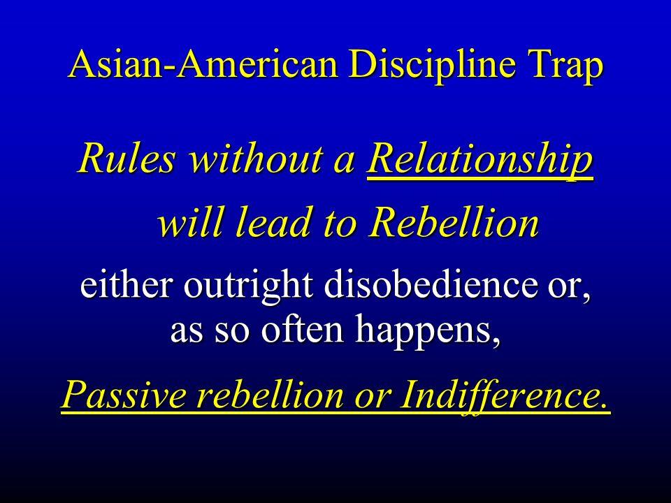 Asian-American Discipline Trap