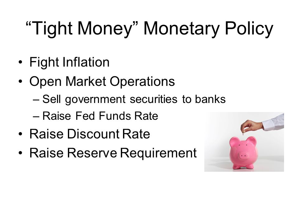 Tight Money Monetary Policy