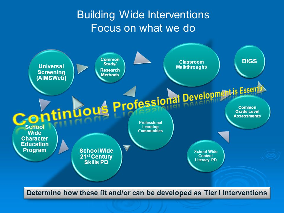 Continuous Professional Development is Essential