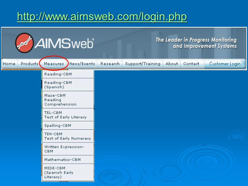 http://www.aimsweb.com/login.php