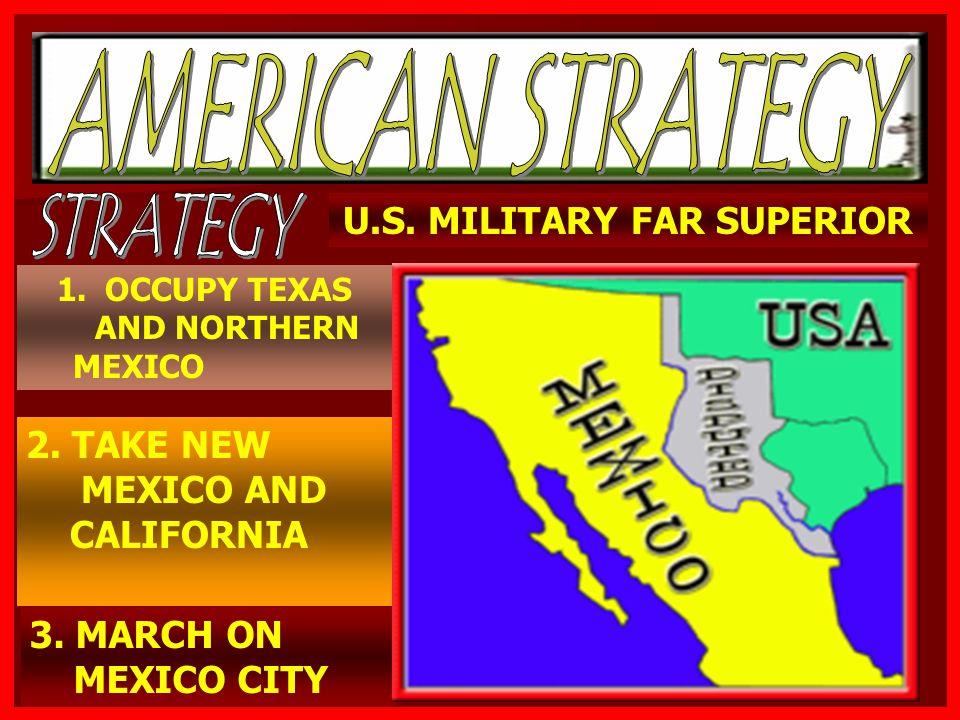 U.S. MILITARY FAR SUPERIOR
