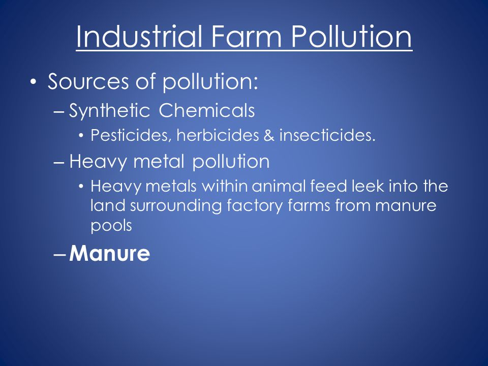 Industrial Farm Pollution