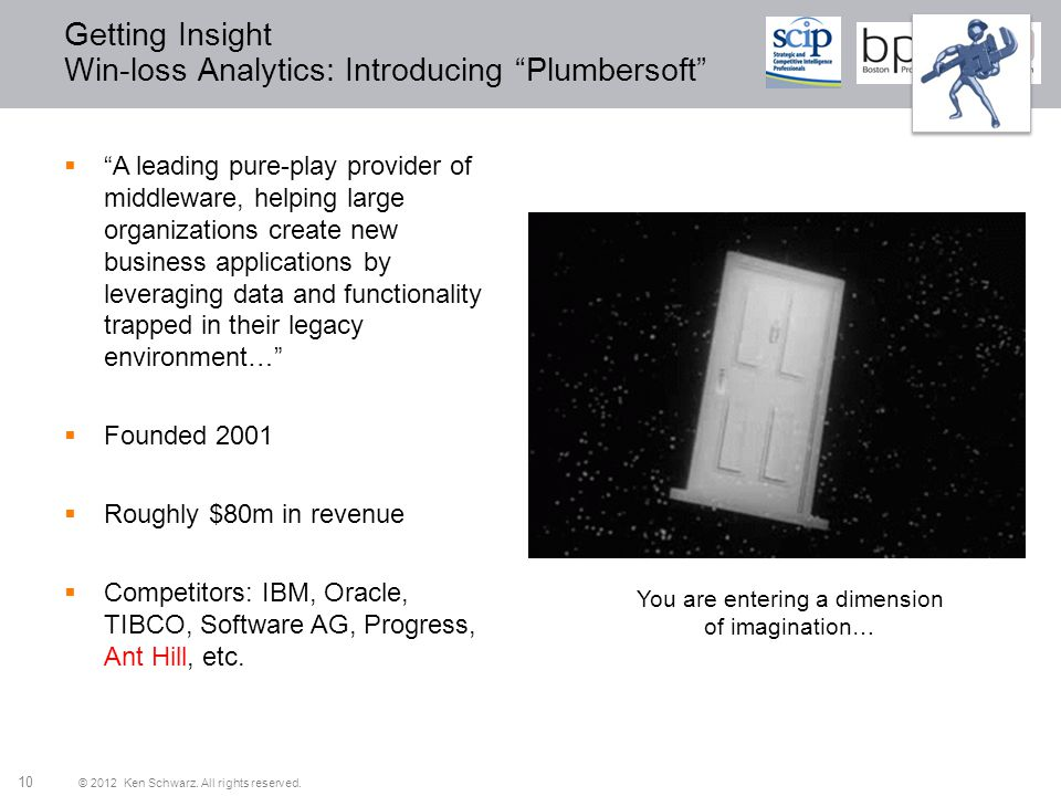 Getting Insight Win-loss Analytics: Introducing Plumbersoft
