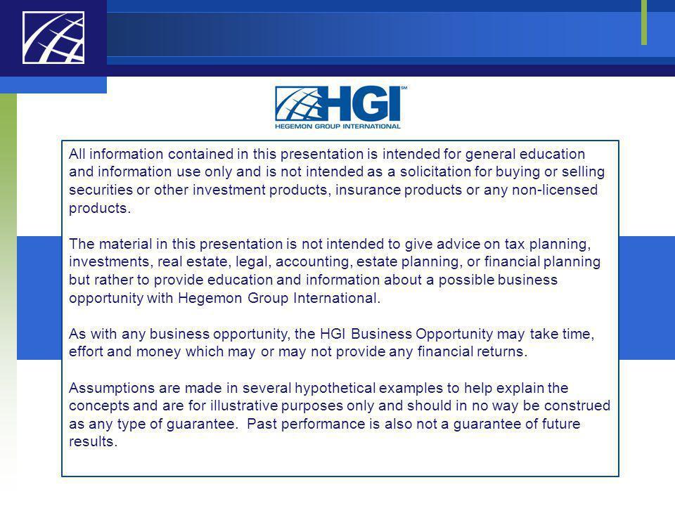 Hegemon Group International