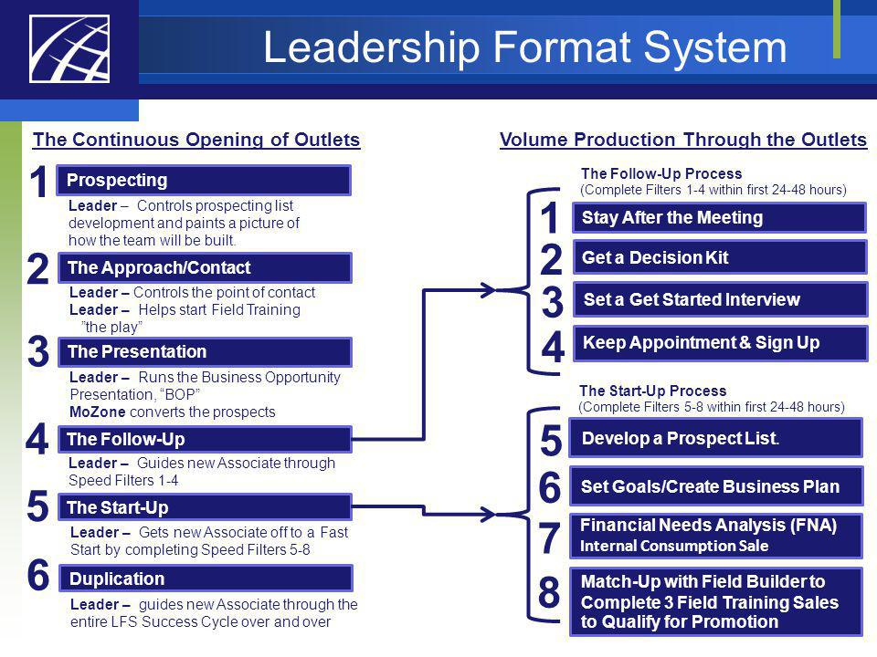 Leadership Format System