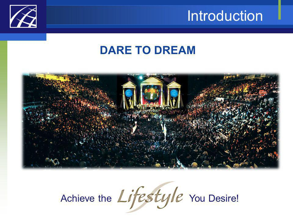 Introduction DARE TO DREAM Achieve the You Desire!