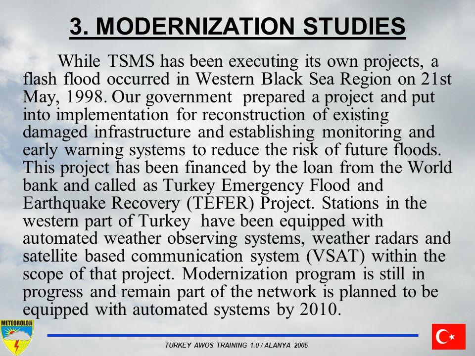 3. MODERNIZATION STUDIES