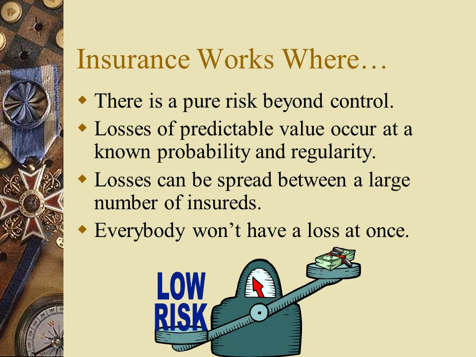 Insurance Works Where…
