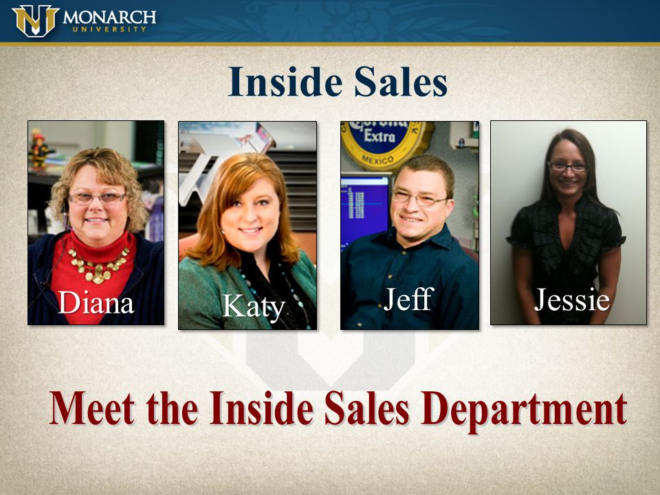 Meet the Inside Sales Department