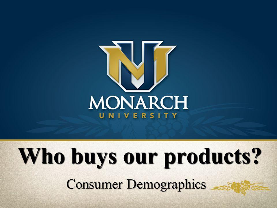 Consumer Demographics