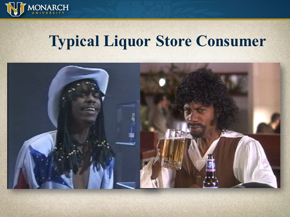 Typical Liquor Store Consumer
