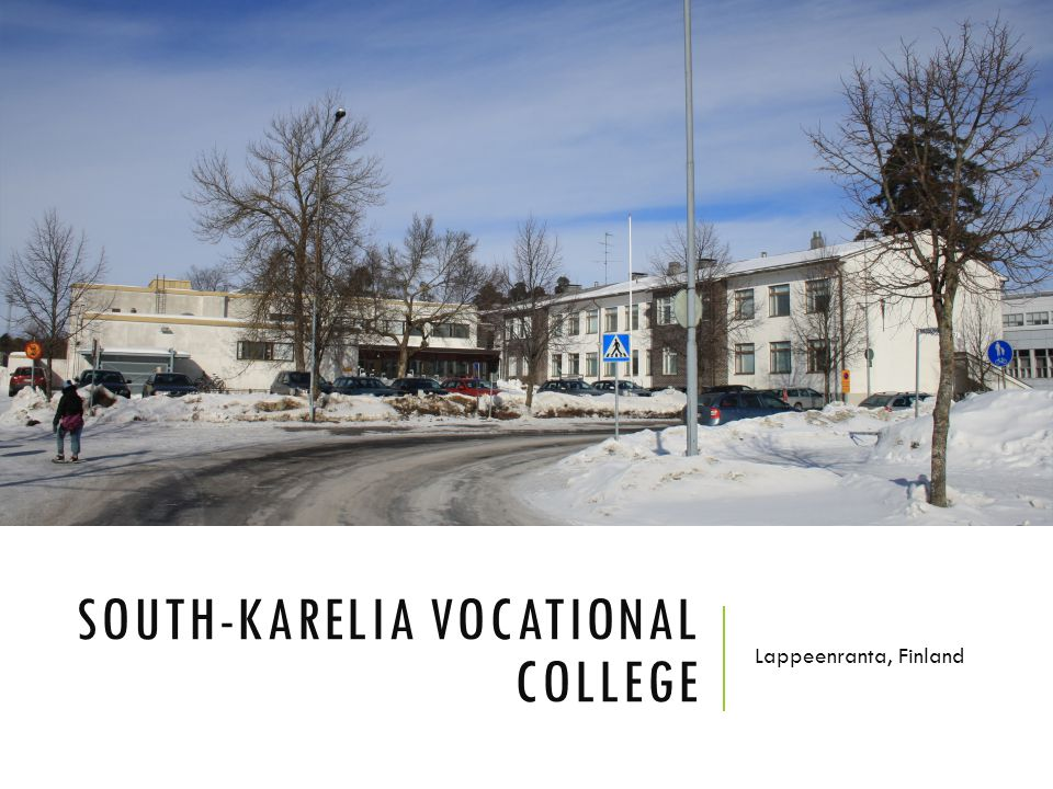 South-Karelia vocational college