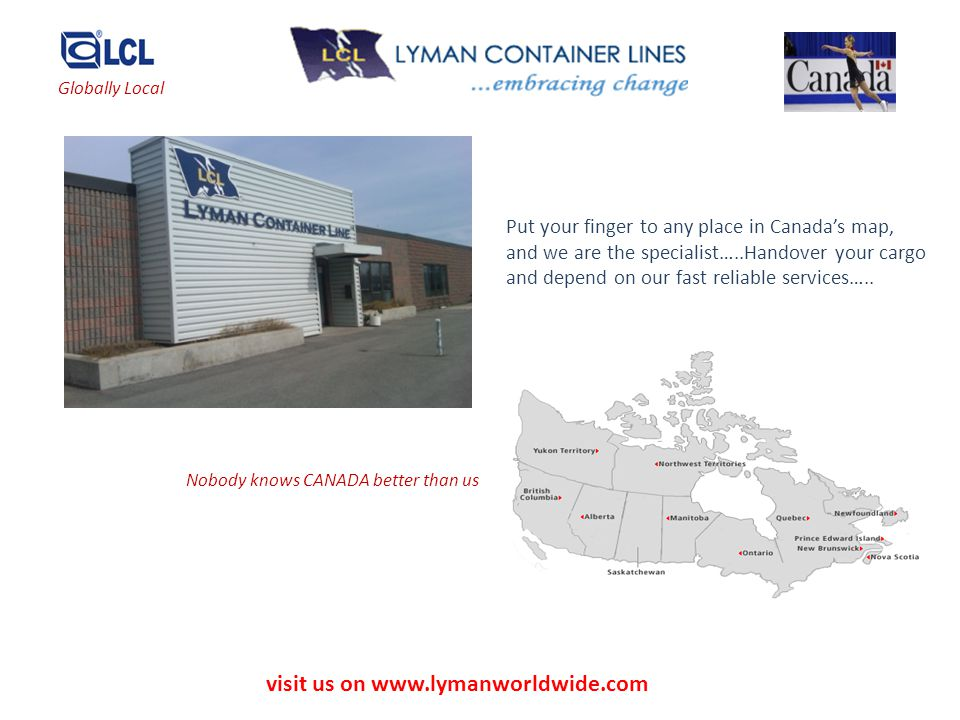visit us on www.lymanworldwide.com