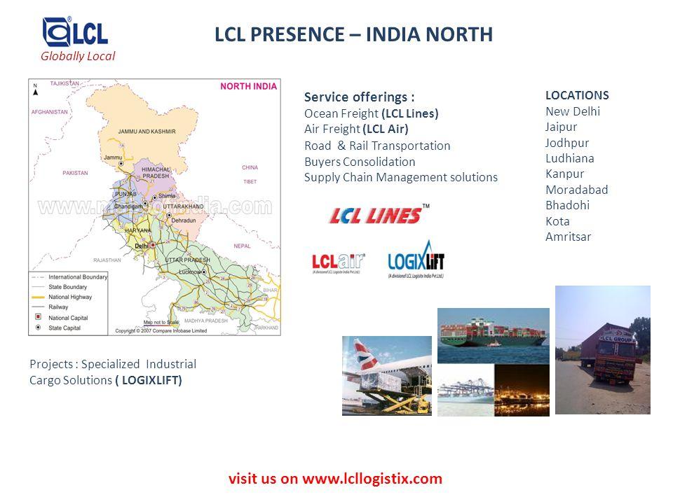 LCL PRESENCE – INDIA NORTH