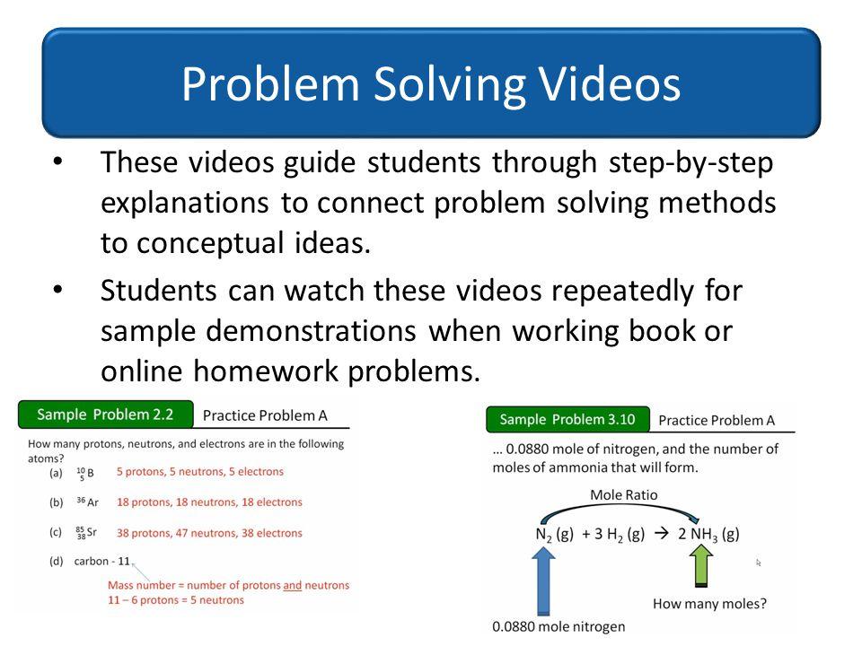 Problem Solving Videos
