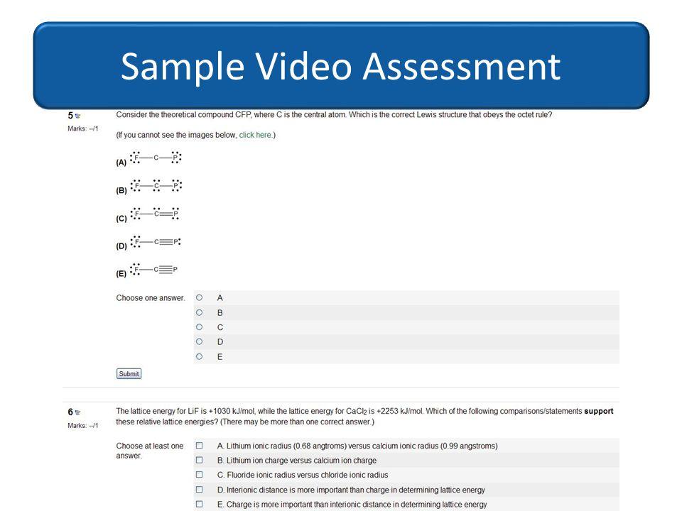Sample Video Assessment