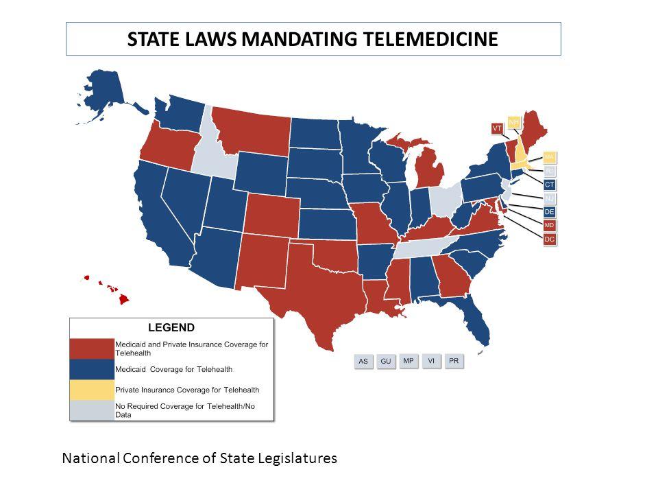 STATE LAWS MANDATING TELEMEDICINE