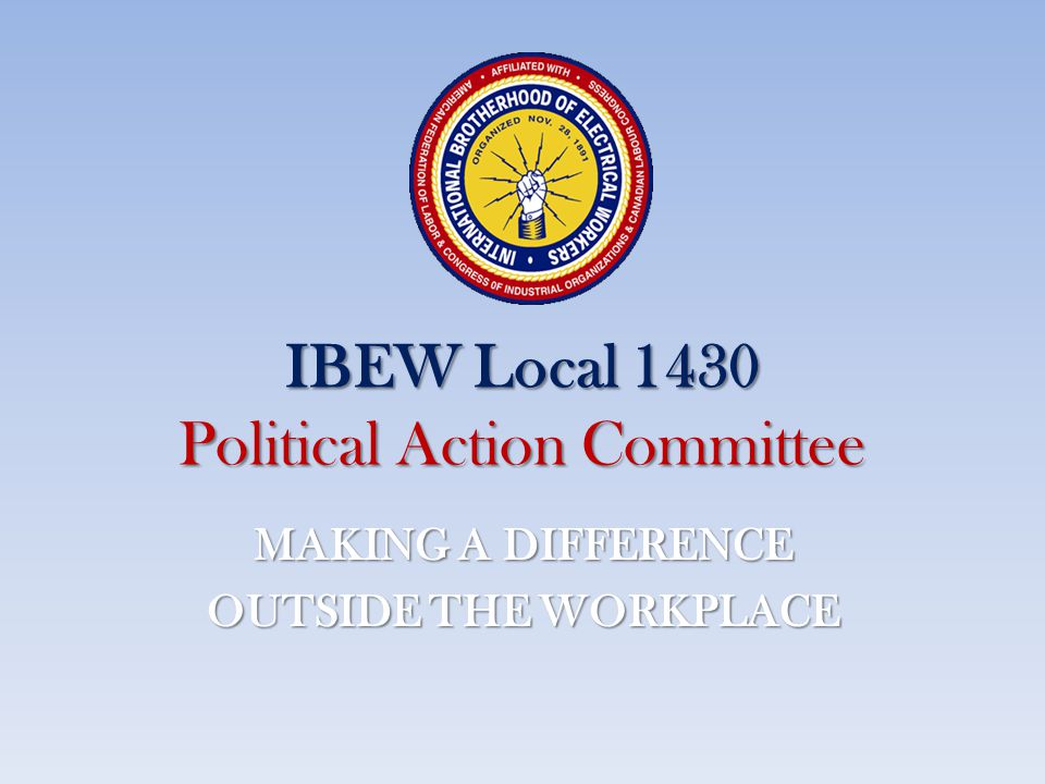 IBEW Local 1430 Political Action Committee