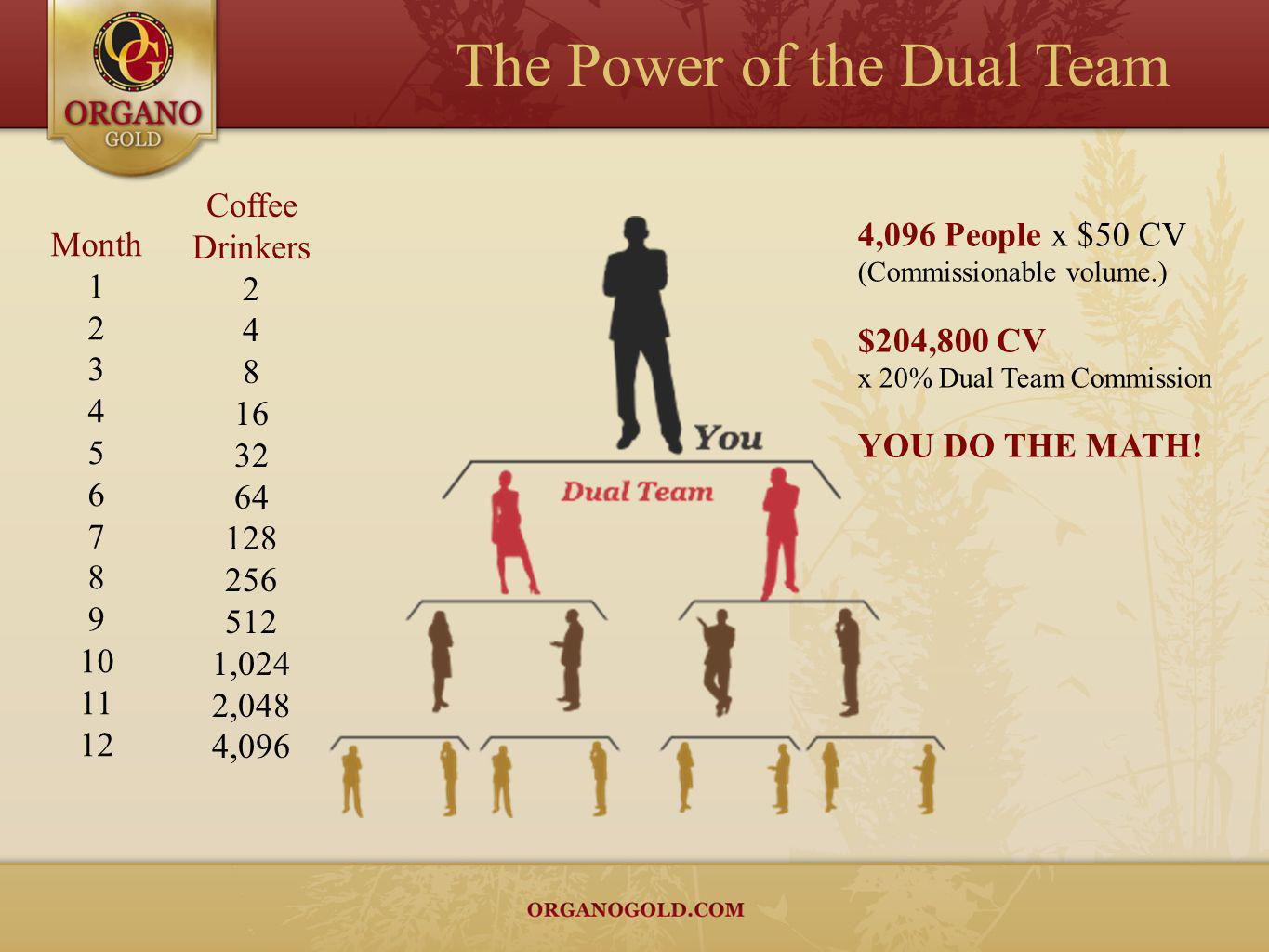 The Power of the Dual Team