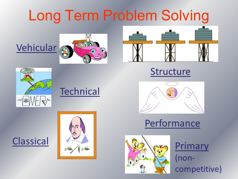 Long Term Problem Solving