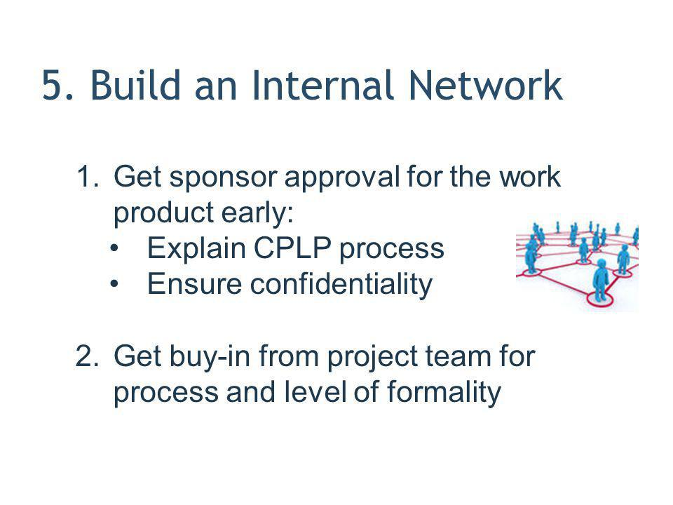 5. Build an Internal Network