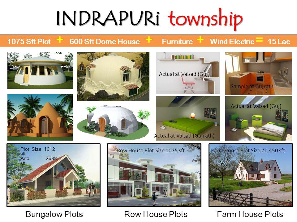 INDRAPURi township Bungalow Plots Row House Plots Farm House Plots