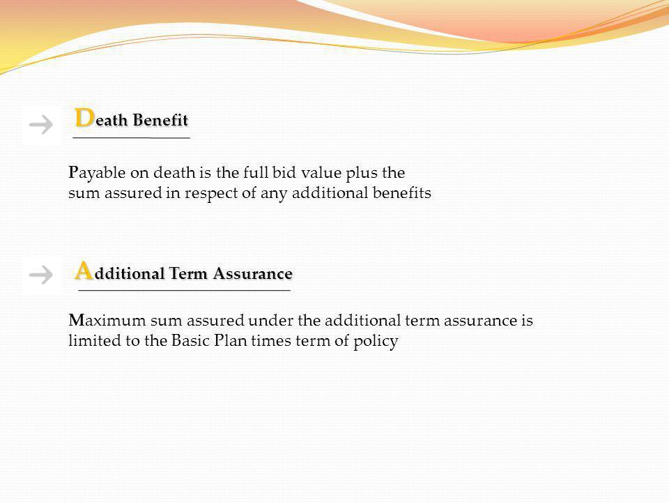 Additional Term Assurance