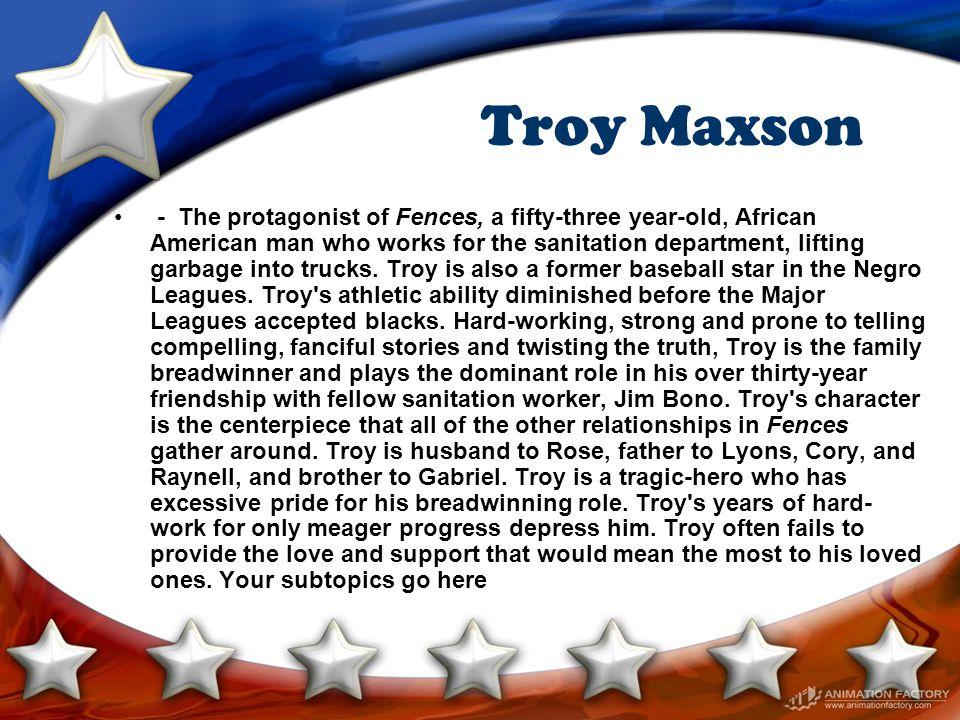 Troy Maxson