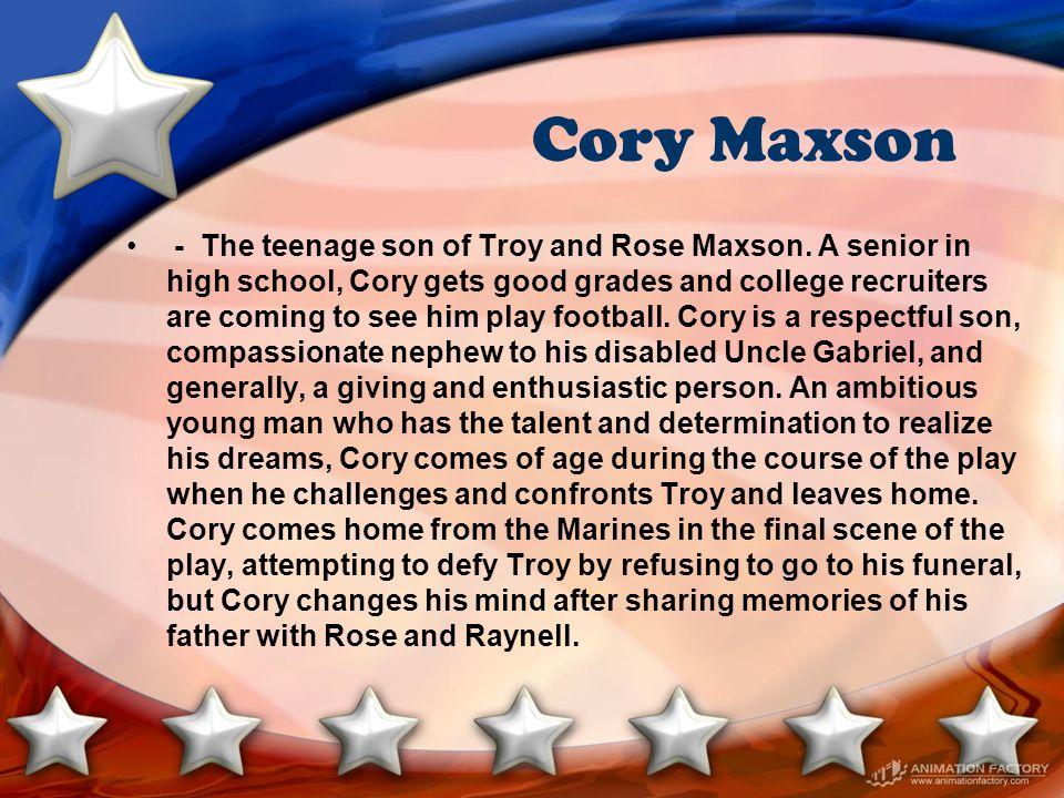 Cory Maxson