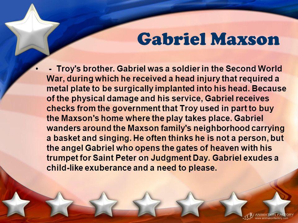Gabriel Maxson