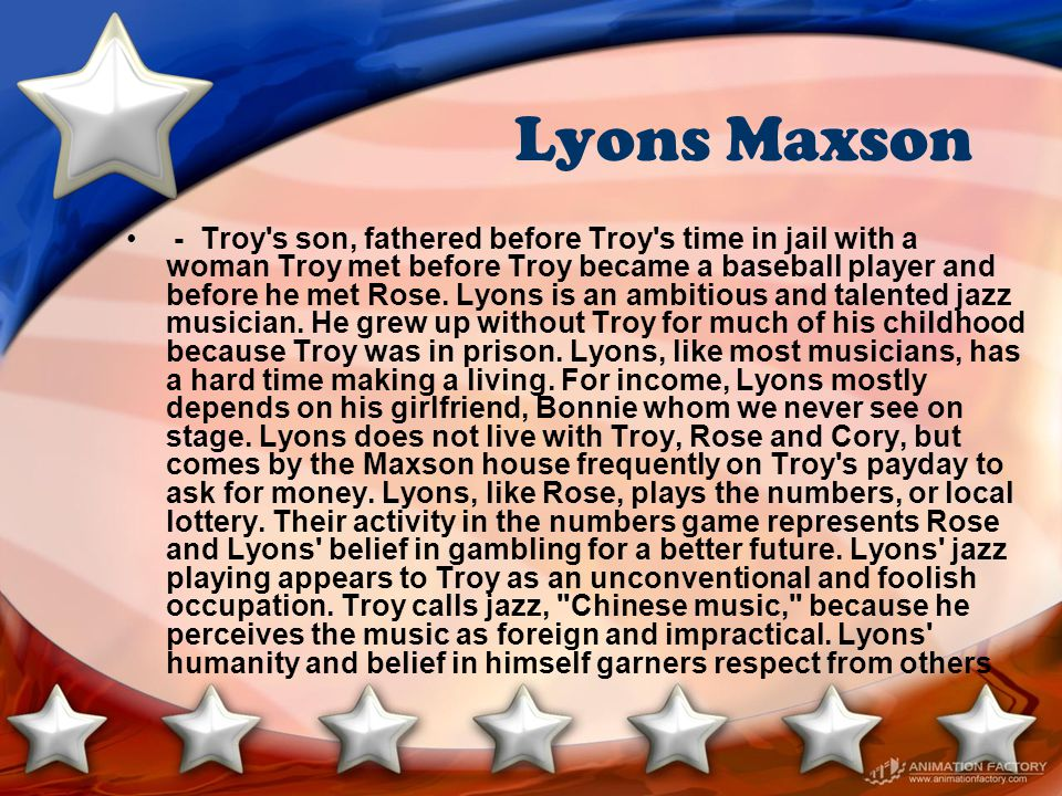 Lyons Maxson