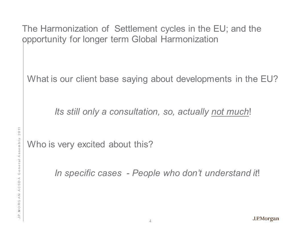 This presentation was prepared exclusively for the benefit and internal use of the J.P. Morgan client to whom it is directly addressed and delivered (including such client's subsidiaries, the Company ) in order to assist the Company in evaluating, on a preliminary basis, the feasibility of a possible transaction or transactions and does not carry any right of publication or disclosure, in whole or in part, to any other party. This presentation is for discussion purposes only and is incomplete without reference to, and should be viewed solely in conjunction with, the oral briefing provided by J.P. Morgan. Neither this presentation nor any of its contents may be disclosed or used for any other purpose without the prior written consent of J.P. Morgan.