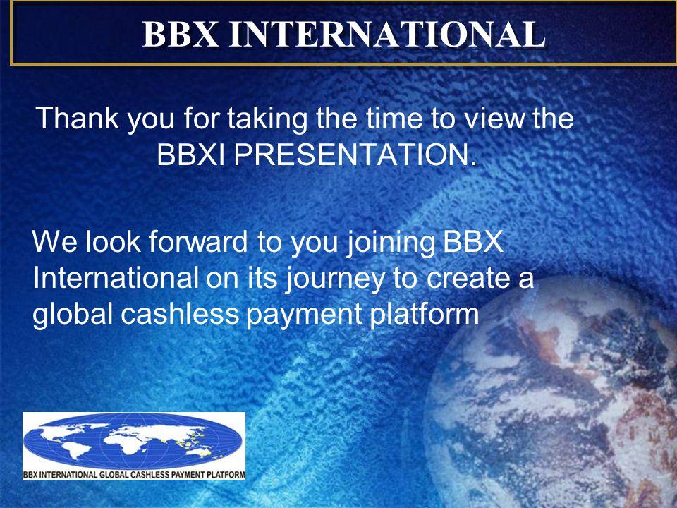 BBX INTERNATIONAL