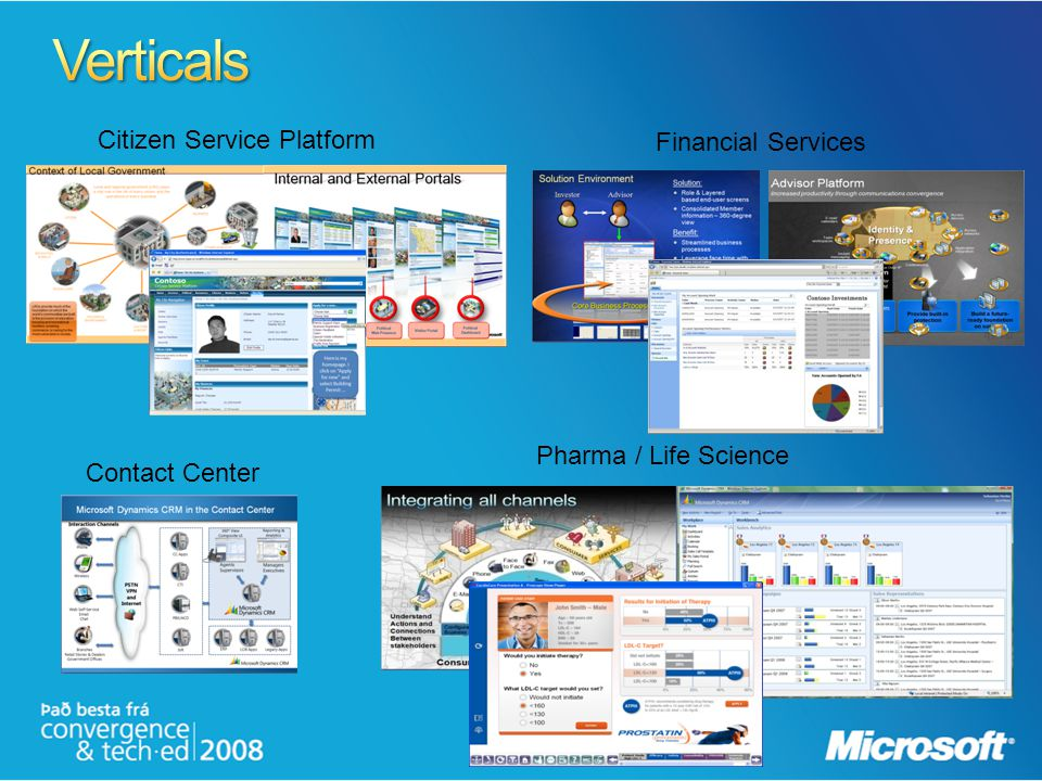Verticals Citizen Service Platform Financial Services