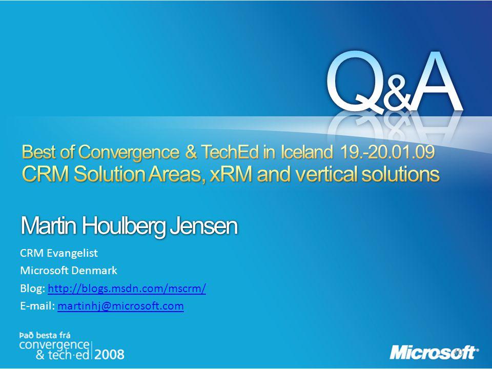 Q&A Martin Houlberg Jensen