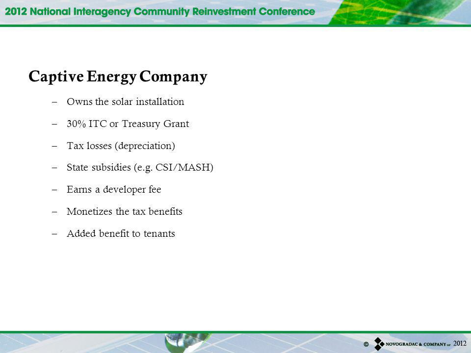 Captive Energy Company