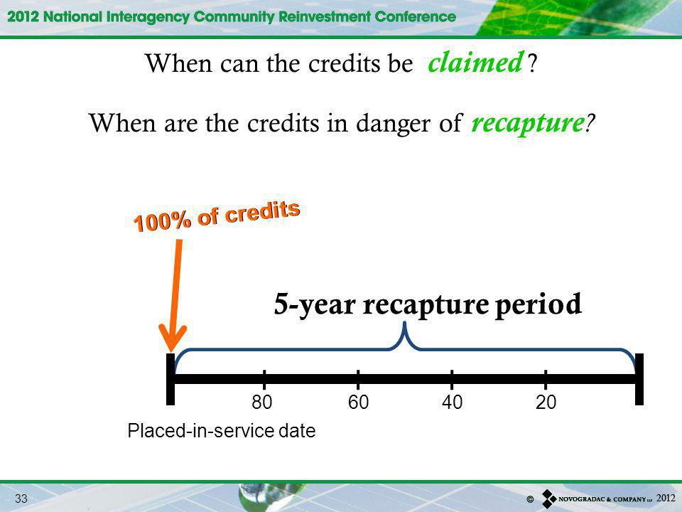 5-year recapture period