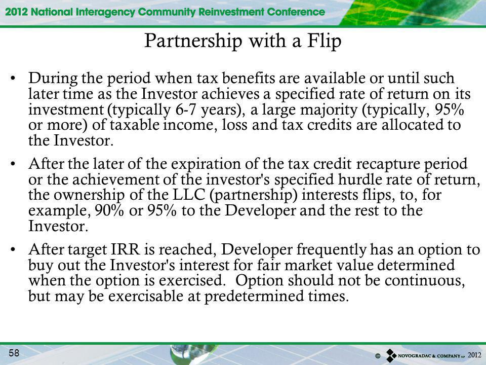 Partnership with a Flip