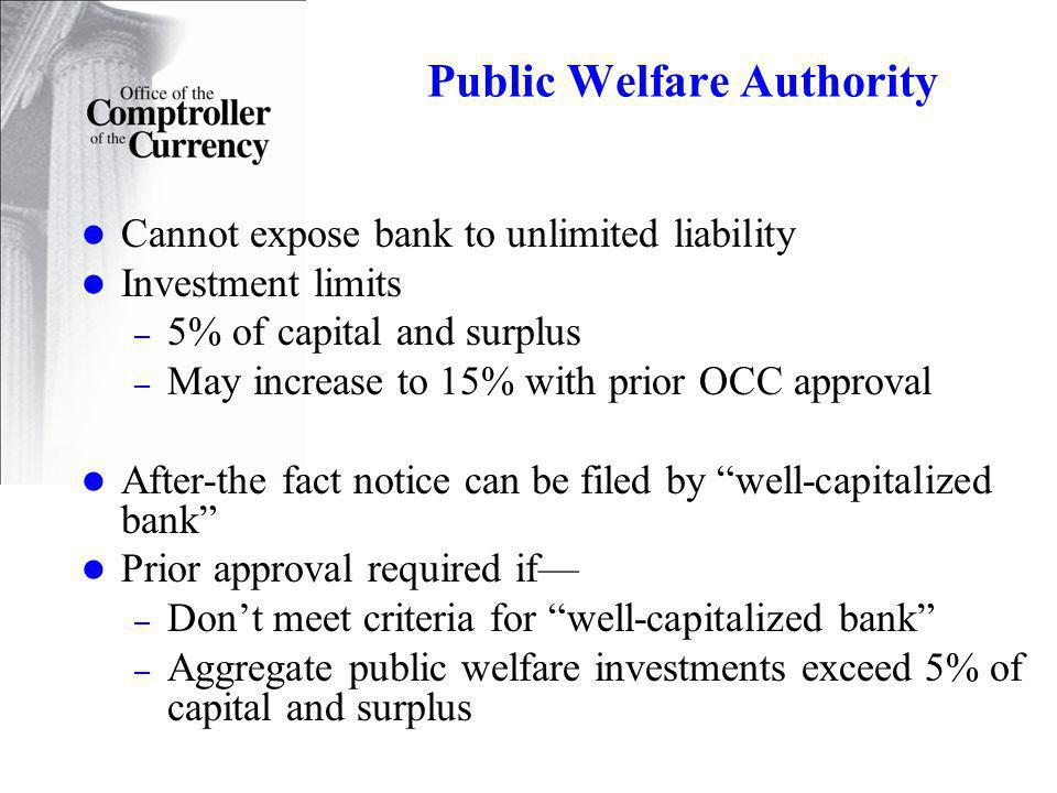Public Welfare Authority