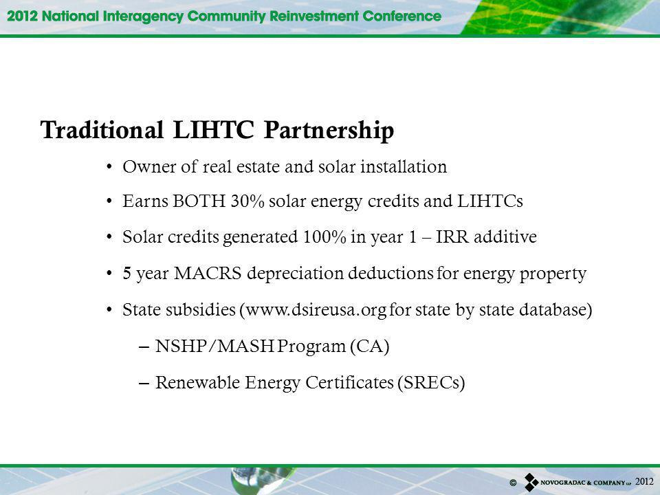 Traditional LIHTC Partnership