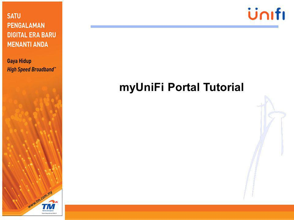 myUniFi Portal Tutorial
