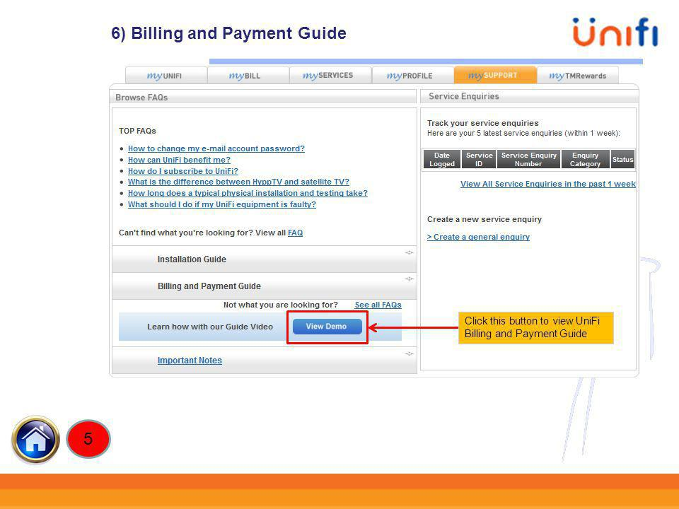 6) Billing and Payment Guide