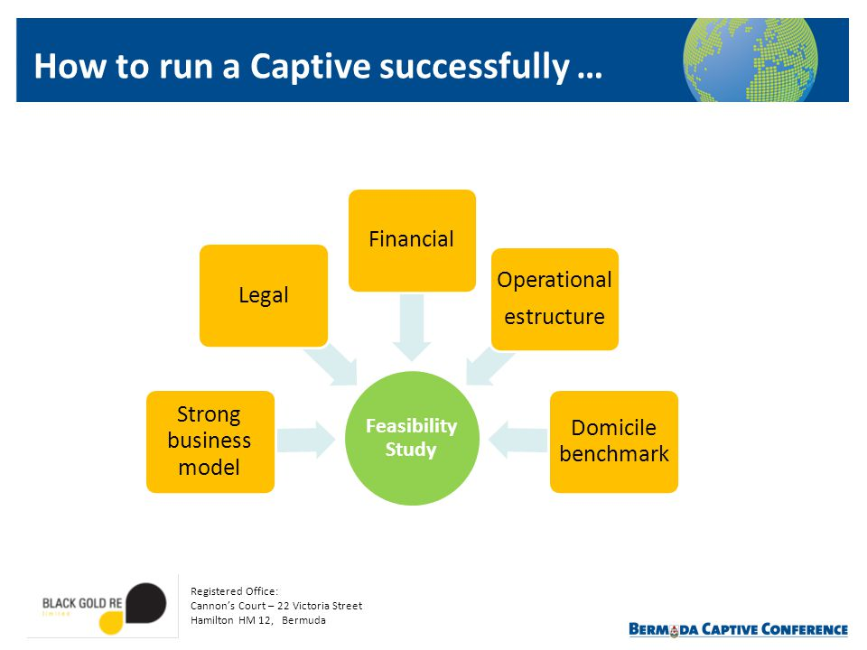 How to run a Captive successfully …