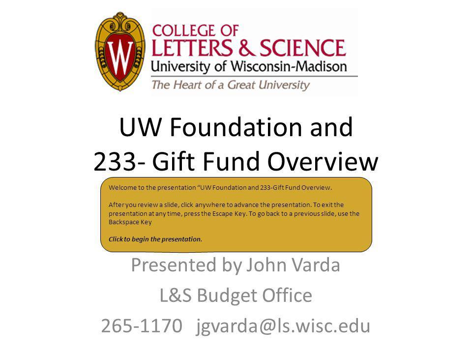 Presented by John Varda