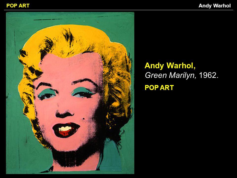 Andy Warhol, Green Marilyn, 1962.
